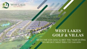dự án west lakes golf